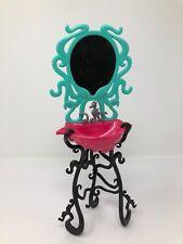 Monster High Doll Vanity Sink Lagoona Blue Bathroom Mirror Black Pink Blue