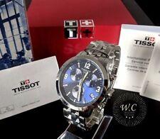 TISSOT PRC200 - Mens Chronograph Blue Swiss Watch - 1 YR WARRANTY - RRP£380