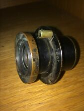 ANTIQUE VINTAGE BRASS LENS RAPID APLANT FEET