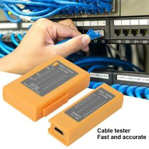 DC9V ABS Network Cable Detector Tester Multifunction Wire Finder for RJ45+HDMI
