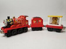 2002 Thomas & Friends James + Bee Tenders Take N Play Magnetic Diecast Train Car