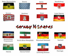 3x5 ft Wholesale Lot German 16 States Germany Flags Flag 3'x5'