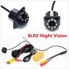 8LED HD CCD Car RearView Reversing Backup Parking Camera Night Vision Waterproof