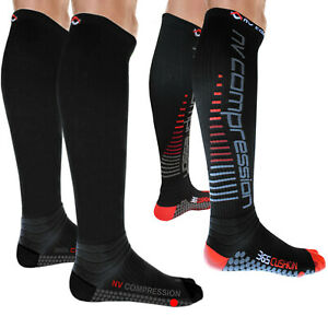 NV Compression 365 Cushion Socks (Pair) 20-30mmHg Sports Recovery DVT