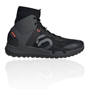 Five Ten Mens Trailcross Pro Mid Mountain Bike Shoes Black Sports Breathable