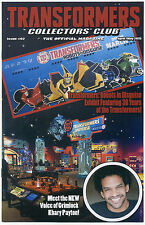 TRANSFORMERS COLLECTORS CLUB MAGAZINE #62 April May 2015