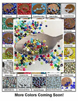 Fringe Miyuki Glass Seed Beads 10-Grams 4x3.4mm Small Teardrops Choose Color