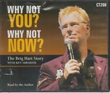 Why Not You? Why Not Now?: The Brig Hart Story AUDIO BOOK CD Ken Abraham Christ
