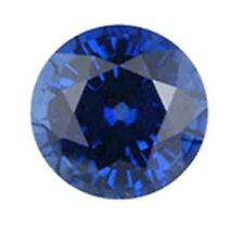 Natural Dark Blue Sapphire Round Cut 6mm Gem GEMSTONE
