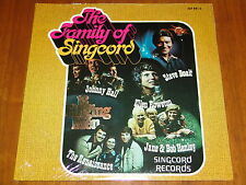 THE FAMILY OF SINGCORD - VARIOUS CHRISTIAN ARTISTS - 1976 RARE SEALED LP