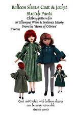 EW019 jacket & coat pattern 4 Ellowyne Wilde, Tonner