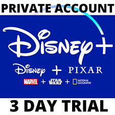 DISNEY PLUS / 3 DIAS / CUENTA PRIVADA / TRY IT WITHOUT PAYING A LOT