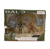 Halo Infinite Master Chief & Brute Chieftain 4 Inch Figures World Of Halo Scale