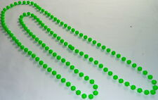 BRIGHT COLOURS LONG ROPE PLASTIC BEADS NECKLACE  FANCY DRESS DISCO PARTY NEW
