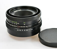 TESSAR 2.8/50 M42 CARL ZEISS JENA *schwarz F/2,8 50mm  (7946)