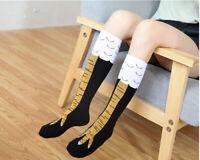 40cm Socks Animal Legs Knee High Fitness Mens Womens Cartoon Chicken 3D Novelty