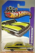 2012 Hot Wheels Kmart Excl #113 HW Workshop CUSTOM 64 GALAXIE 500 Olive Variant