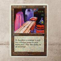 Ashnod's Altar Rare Antiquities Magic the gathering MTG Artifact