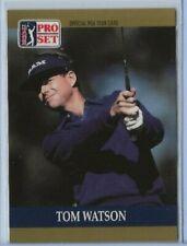 1990 Pro Set Tom Watson base card