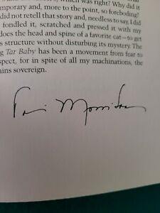 TONI MORRISON 'TAR BABY' LIMITED SIGNED FIRST EDITION FRANKLIN LIBRARY 1981 MINT