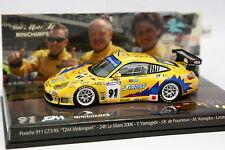 Minichamps 1/43 - Porsche 911 GT3 RS T2M Le Mans 2006 N°91