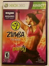 ZUMBA Fitness *Join The Party* (Xbox 360 Kinect, 2010) *COMPLETE* SHIPS Mon-Sat!