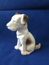 Vintage Parson Jack Russell Terrier Puppy Dog Porcelain Ceramic Figurine