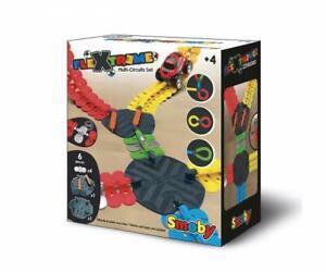 Smoby 7600180911 - FleXtreme Multi-Strecken Schaltungsset