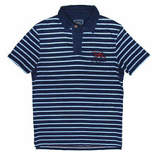 Fat Face Men's stripe Short Sleeve Collared Casual Shirts & Tops