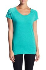 Z by Zella Women's XS Teal Yoga Short Sleeve Top Athletic Workout Favorite Tee