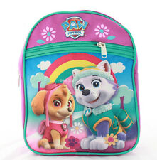 Paw Patrol Little Girls Toddler Preschool Backpack Small BookBag Puppy Cute Pink