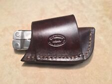 Custom Leather Crossdraw Sheath for LEATHERMAN Rebar