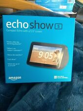 2 Echo Show 5, one black, one White