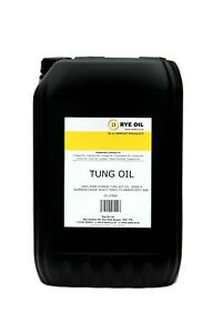 Tung Oil 5 litre 100% Pure Highest Quality 5L
