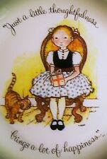 """Holly Hobbie 10"""" Collector Plate, Just a little thoughtfulness brings a lot of.."""