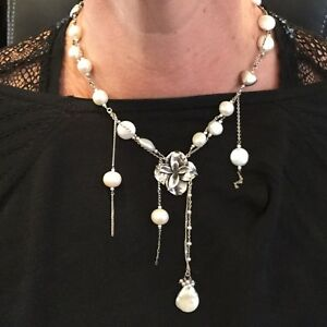 GORGEOUS MUMMY'S BUNDLE (DOUG HANCOCK), NEW W/ TAGS, STERLING & PEARL NECKLACE!