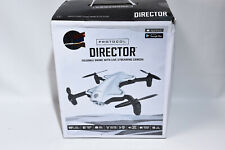 Protocol Director Foldable Drone Quadcopter Live Streaming Camera