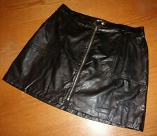 NEW! Candie's ~ Junior's SIZE Large (11-13 Faux Leather Skirt NWT~ $38