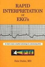 Rapid Interpretation of EKG's by Dale Dubin (2000, <PAPERBACK>