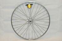"Weinmann 27"" Front Bike Wheel Normany Hub OLW100 14mm 38S PV Silver USA Charity!"
