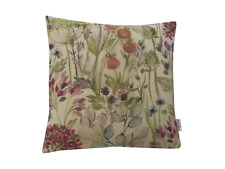"Voyage Decoration Hedgerow Linen Floral cushion cover/sham Pillow case 16"" x 16"""