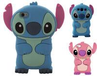 3D Cartoon Stitch Les Housses Coques Silicone Gel Souple de Pour iPhone Samsung