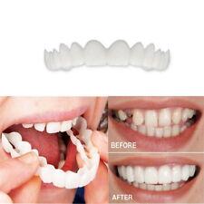 Snap On Teeth Cosmetic Secure Smile Natural Upper Veneer Dental False US