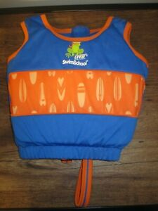 Aqua Leisure SwimSchool 4-6 Years Swim Trainer Vest Medium/Large 30-50 lb Boys