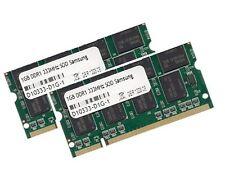 2x 1gb 2gb DDR 333 MHz para Samsung portátil m40 p28 p30 RAM de memoria SODIMM