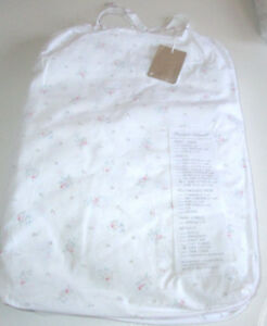 Shabby Chic RACHEL ASHWELL COUTURE Cal King FITTED Sheet FLORAL PINK ROSES