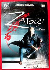 ZATOICHI  BLIND SWORDSMAN 2004 TAKESHI KITANO SAMURAI UNIQUE EXYU MOVIE POSTER