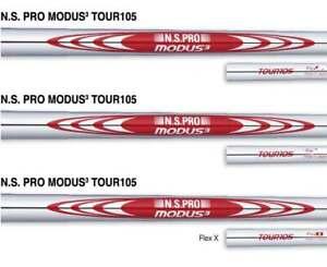 New Uncut N.S. Pro Modus3 Tour 105 X-Stiff Flex Steel Iron Shafts - Choose Club