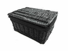 Wicker Decorative Baskets with Lid