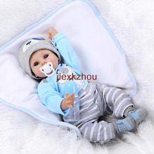 22in. 55cm Big Eyed Reborn Baby Doll Toys New
